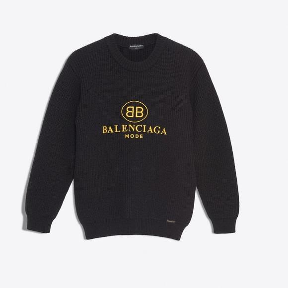Bb Balenciaga Mode Crewneck